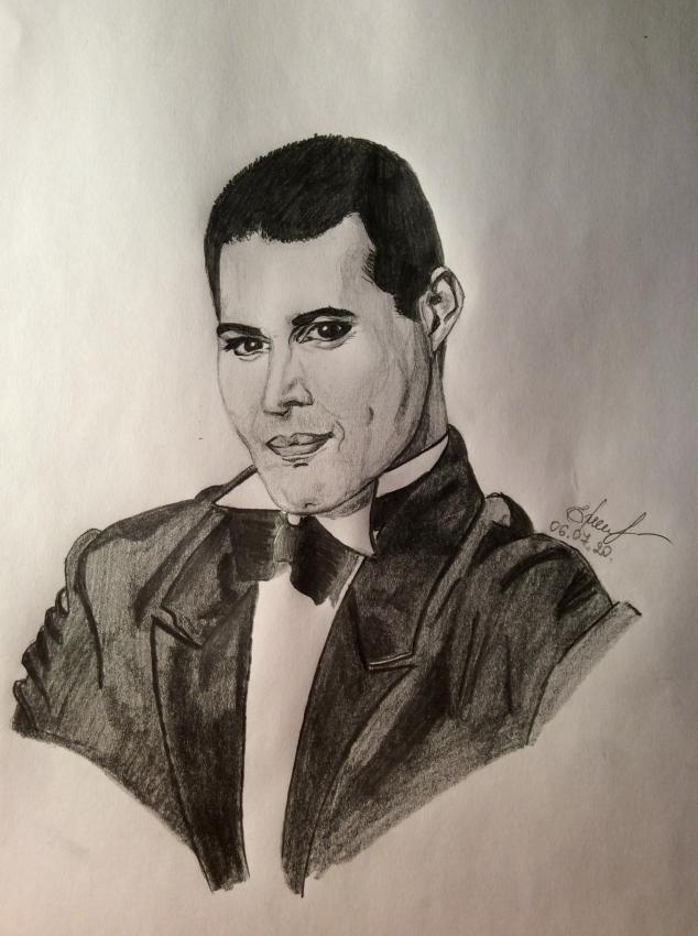 Freddie Mercury by IdrawYou